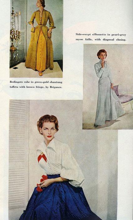 Pin By Sense Sensibility Patterns On 1950s Mood Board Fashion History Fifties Fashion Elegant Robe
