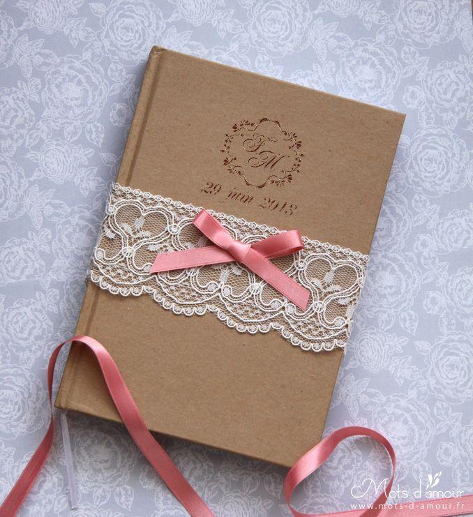 J\'aime beaucoup l\'idée de la dentelle et du noeud | zaproszenia ...