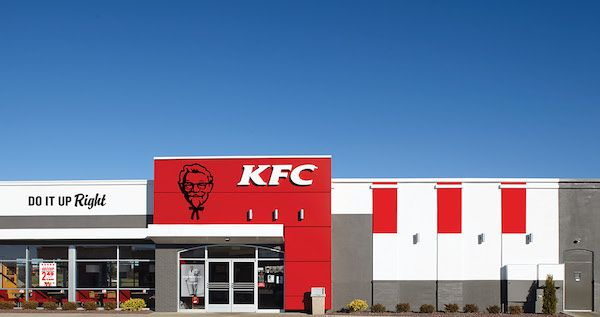 Kfc S Redesigned Branding Is Simple And Modern Reflects Its