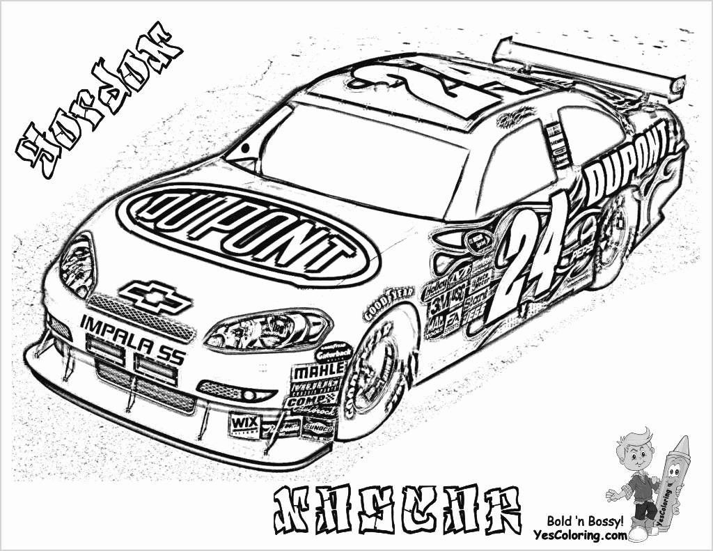 Printable Race Cars Coloring Pages Unique Cars Coloring Page Di 2020
