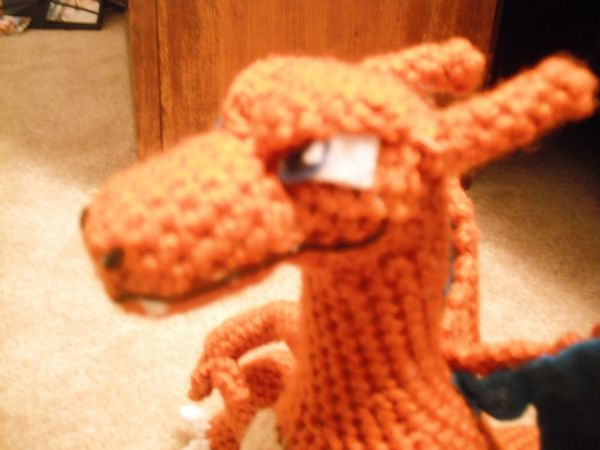 Beau has talked about me making a Charizard for a long time now. I was always hesitant (he made me a little nervous), but finally gave in as usual.  He had some ups and downs along the way, his hea…