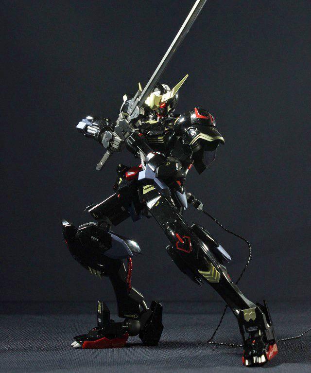 1/100 Dark Gundam Barbatos - Customized Build w/ LED