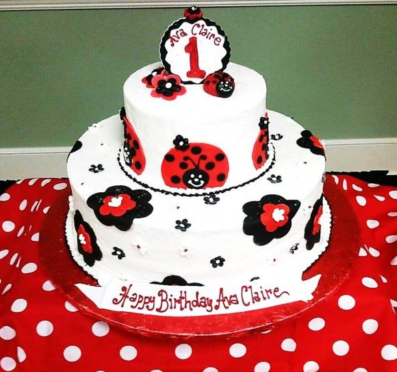 Swell Ladybug Party Ideas Lady Bug Birthday Cake Ladybug Birthday Funny Birthday Cards Online Fluifree Goldxyz