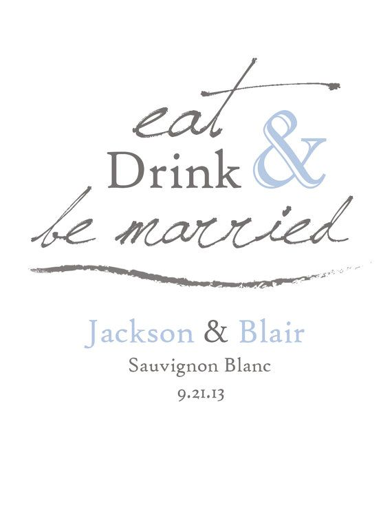 Eat drink be married diy wine label template by brossiebelle 850 eat drink be married diy wine label template by brossiebelle 850 diy crafty crafterson pinterest label templates wedding and diy wedding maxwellsz