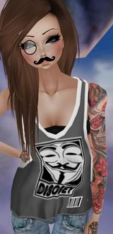 """Outfit by DlSClPLE for """"Movember Moustache"""""""