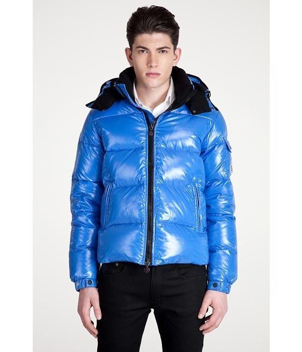 Welcome To Moncler Men Himalaya Down Jacket in Blue Online Shop - $211.65 Men  Moncler Jacket
