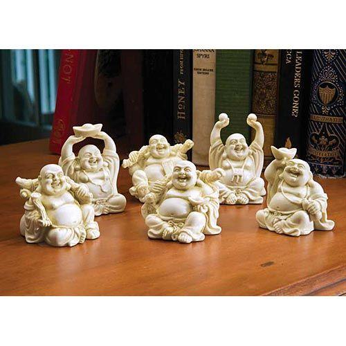 Laughing Buddha Figurines Bouddha Japon Chine