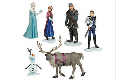 $19 for a Frozen Inspired Kids' Toy Set - Shipping Included