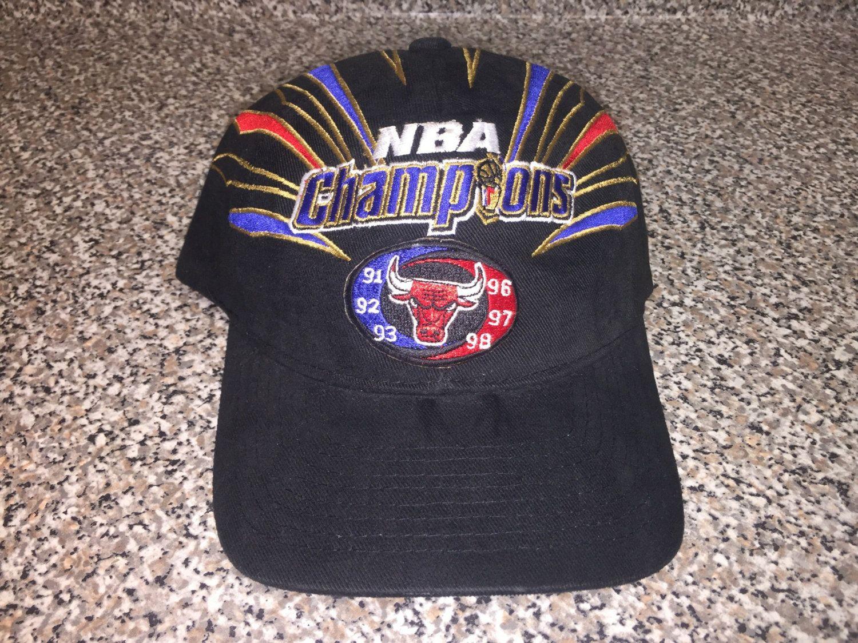 5d4d6c06ee3d8f Vintage 1997 Chicago Bulls Champions Hat snapback cap jersey champs scottie  pippen bill wennington nba finals michael jordan bill cartwright by ...