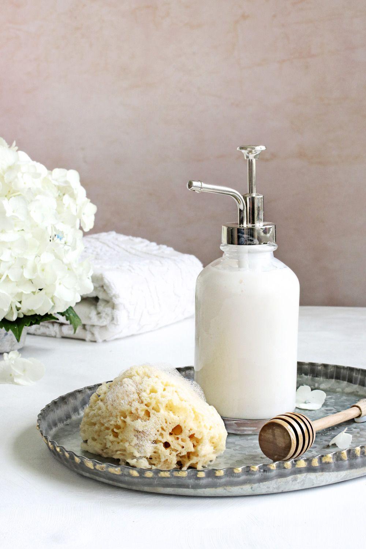 An acne body wash recipe to keep skin clear hello glow