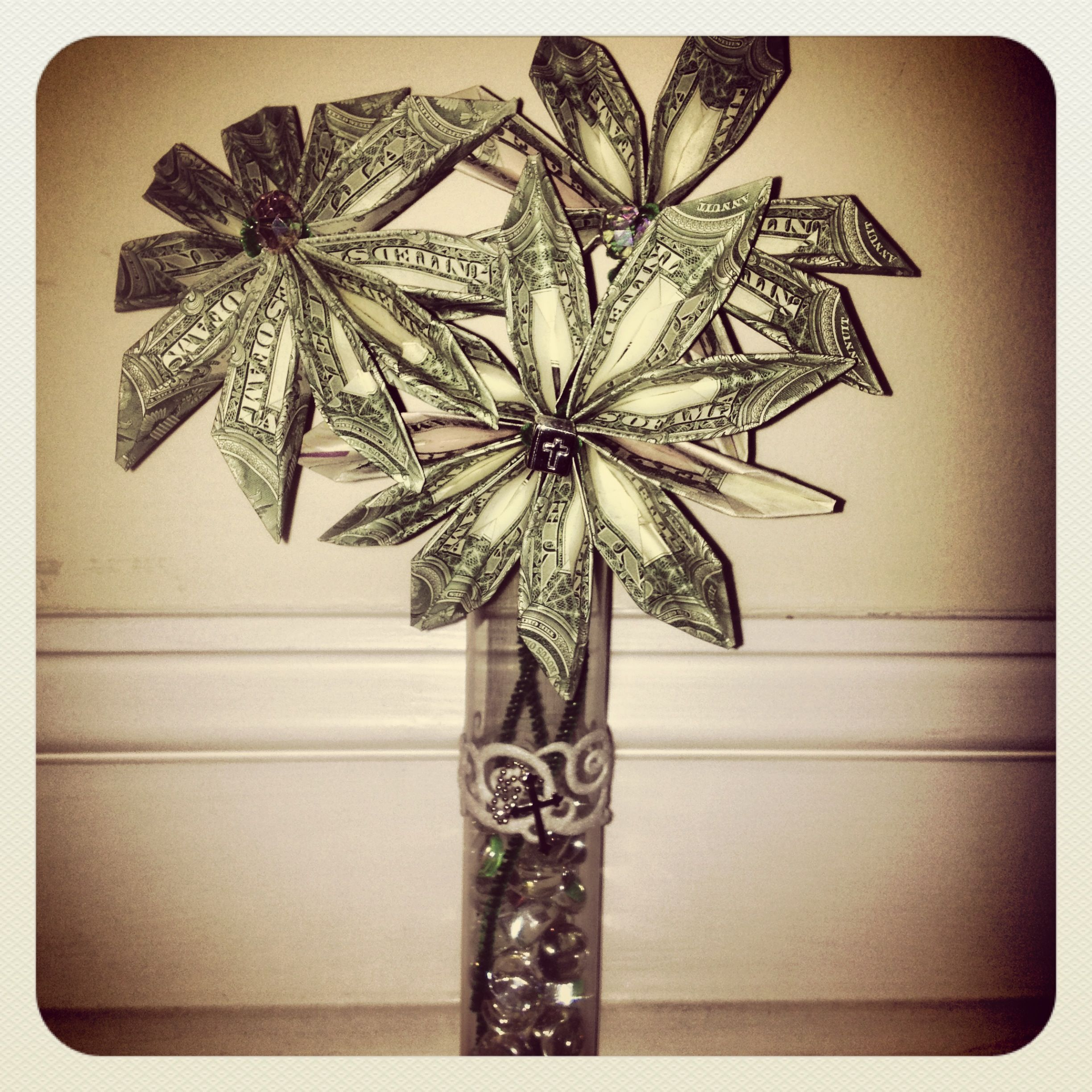 Get crafty with the gift of money create and origami money flower get crafty with the gift of money create and origami money flower directions found mightylinksfo