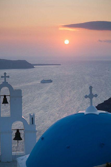 Santorini Sunset by Aaron_S
