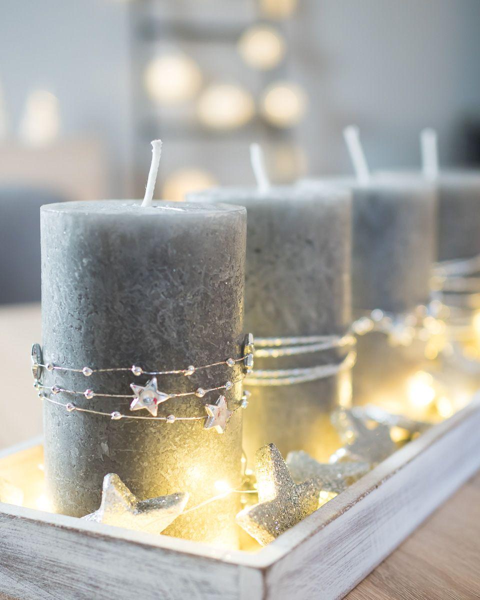 Photo of DIY: Last Minute Adventsgesteck in Silber – schlicht und edel