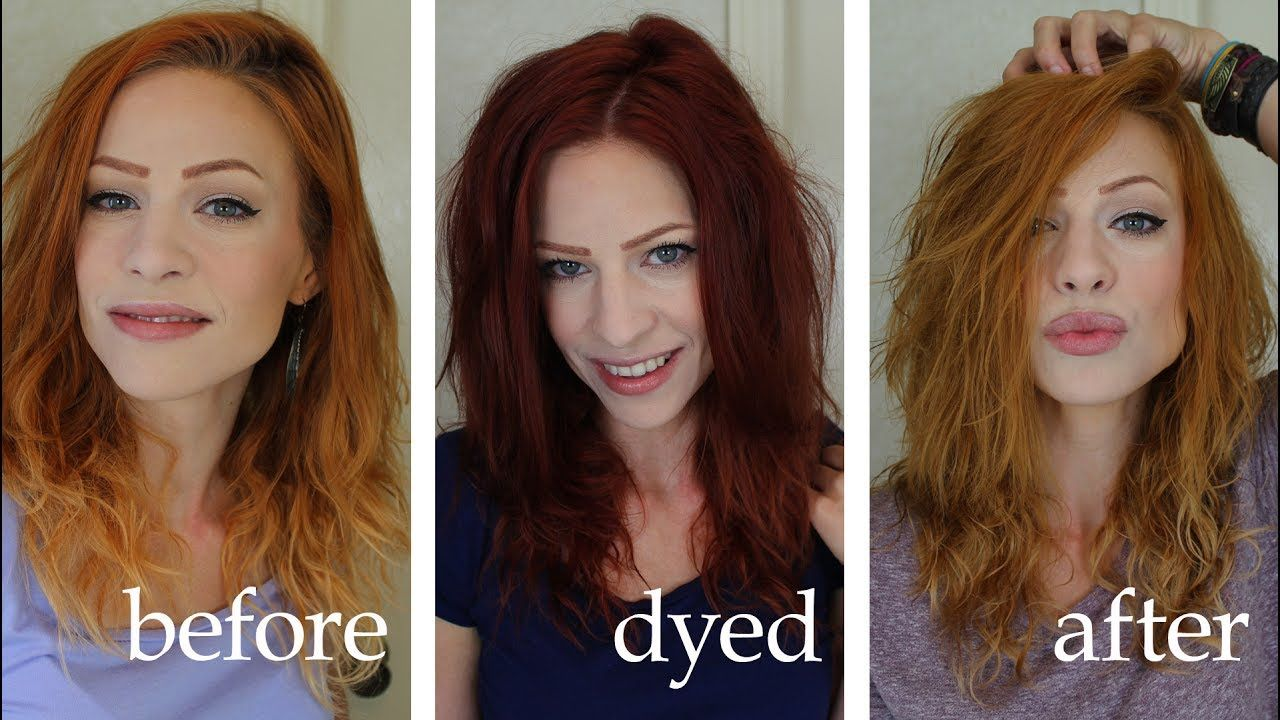 Lightening Or Removing Dye With Vitamin C And Shampoo Hair Dye