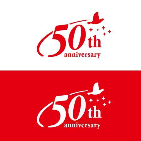 50周年記念ロゴデザインを募集します へのcalicocatさんの提案一覧 記念ロゴ ロゴデザイン タイポグラフィのロゴ