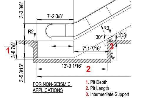 pin by tr u1ea7n m u1ea1nh c u01b0 u1eddng on escalator construct n detail