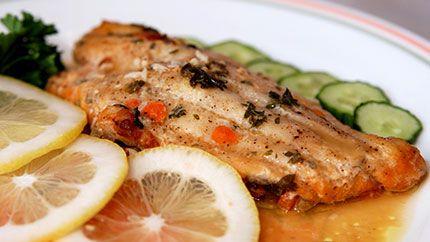 سمك فيليه شهي بالفرن Citrus Fish Recipe Citrus Fish Recipes