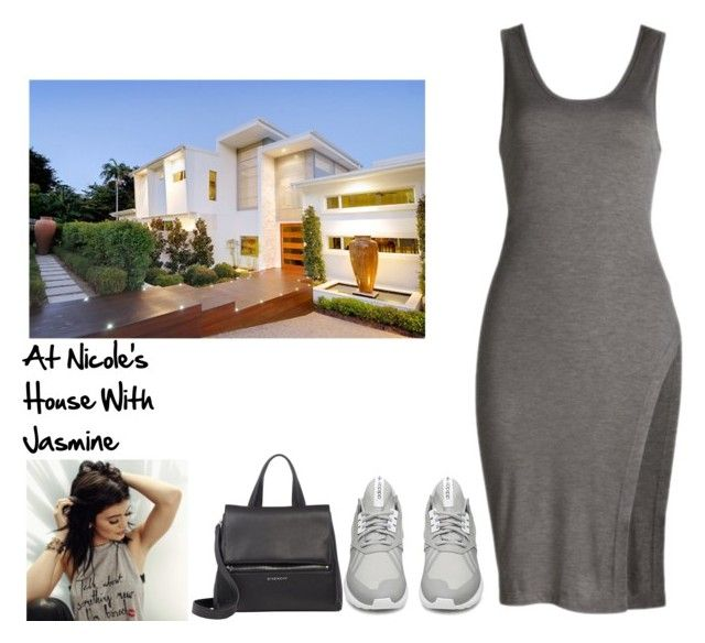 """At Nicole's House With Jasmine"" by britneygeminigirl on Polyvore featuring adidas and Givenchy"