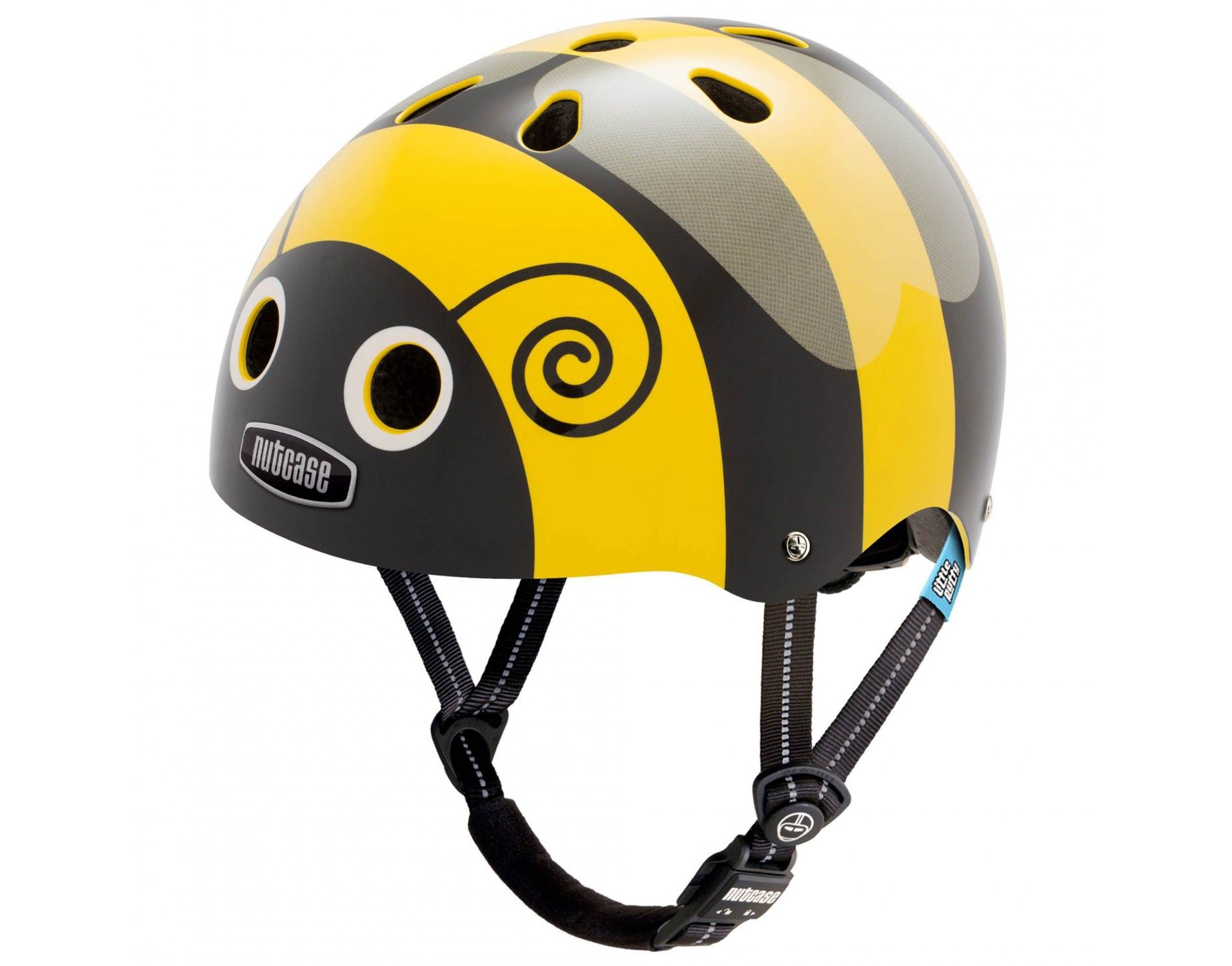 Nutcase Little Nutty Kids Bike Helmet Bumblebee for Child Bicycle Safety