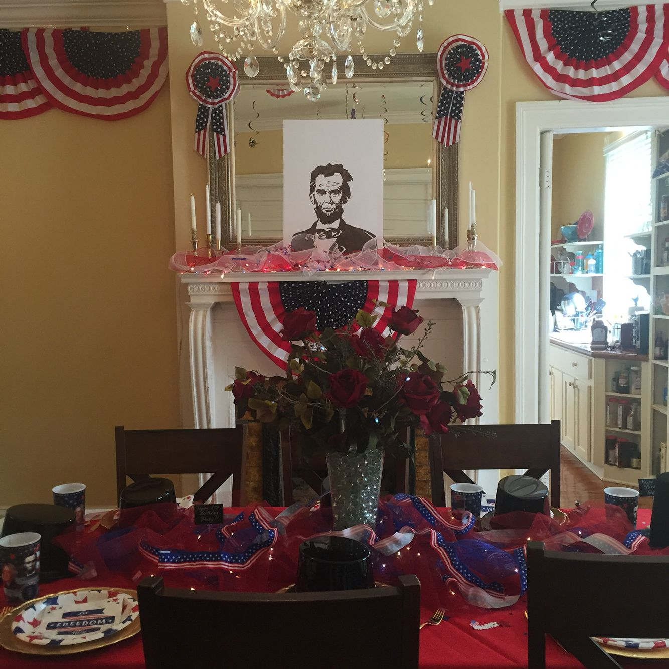 Abraham Lincoln Inspired Birthday Party