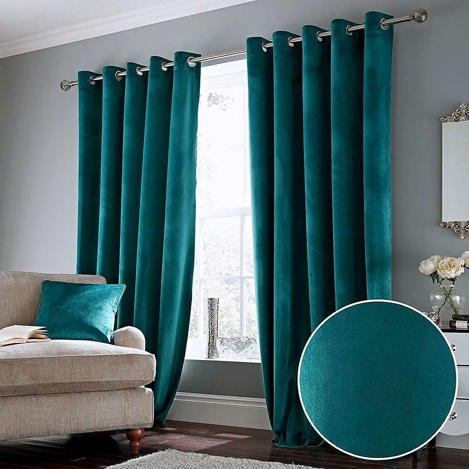 Gray And Teal Living Room Teal Living Rooms Blue Curtains Living Room Curtains Living Room