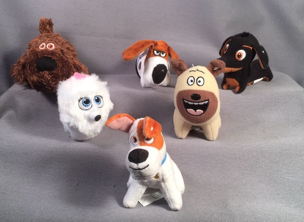 6 Secret Life Of Pets Mcdonald S Happy Meal Toys Dogs Mcdonalds Happy Meal Toys Happy Meal Mcdonalds Happy Meal