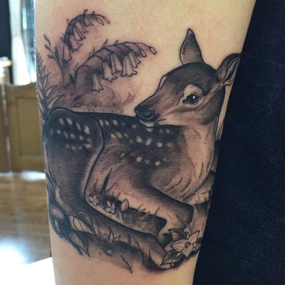 tattoos by Corinne Schraven Black and grey tattoos