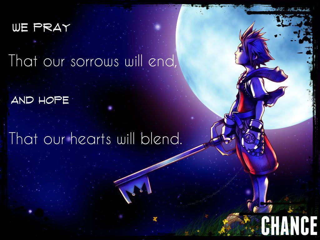 Kingdom Hearts Quotes Kingdomheartsmemoriesquotes  Sasukesrainydays  At