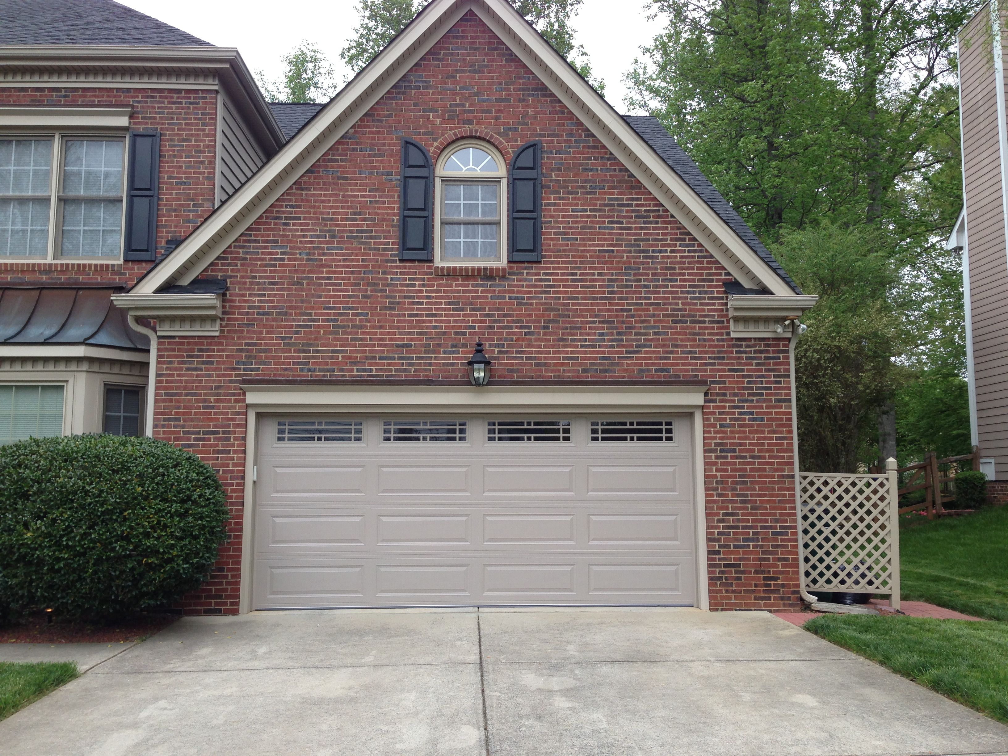 Long Raised Panel Double Traditional Garage Door With Windows Beautiful Traditional Garage