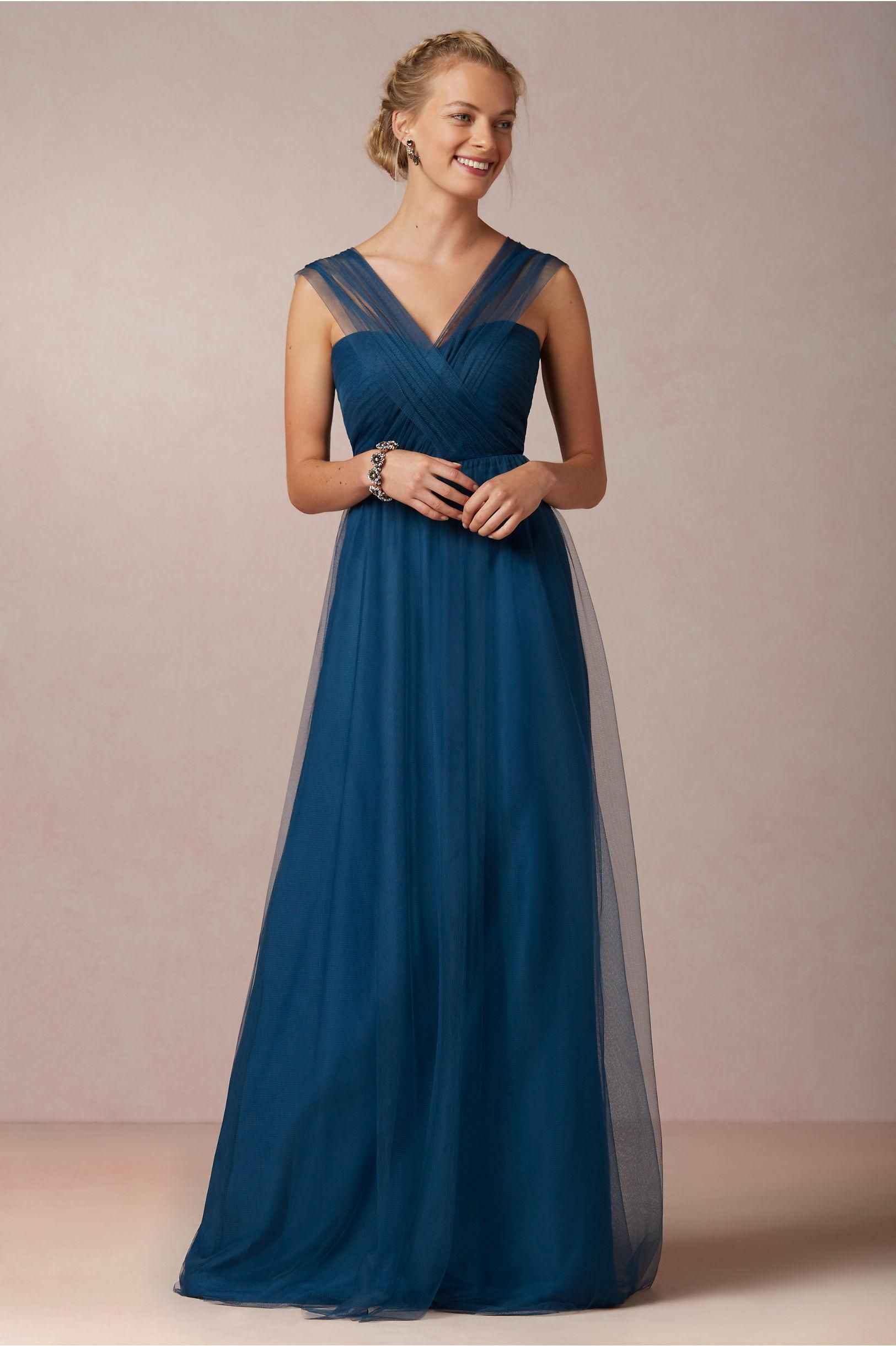 Royal blue wedding dresses plus size  Cheer Wedding Dress  A Line Elegant V Neck Criss Cross Floor