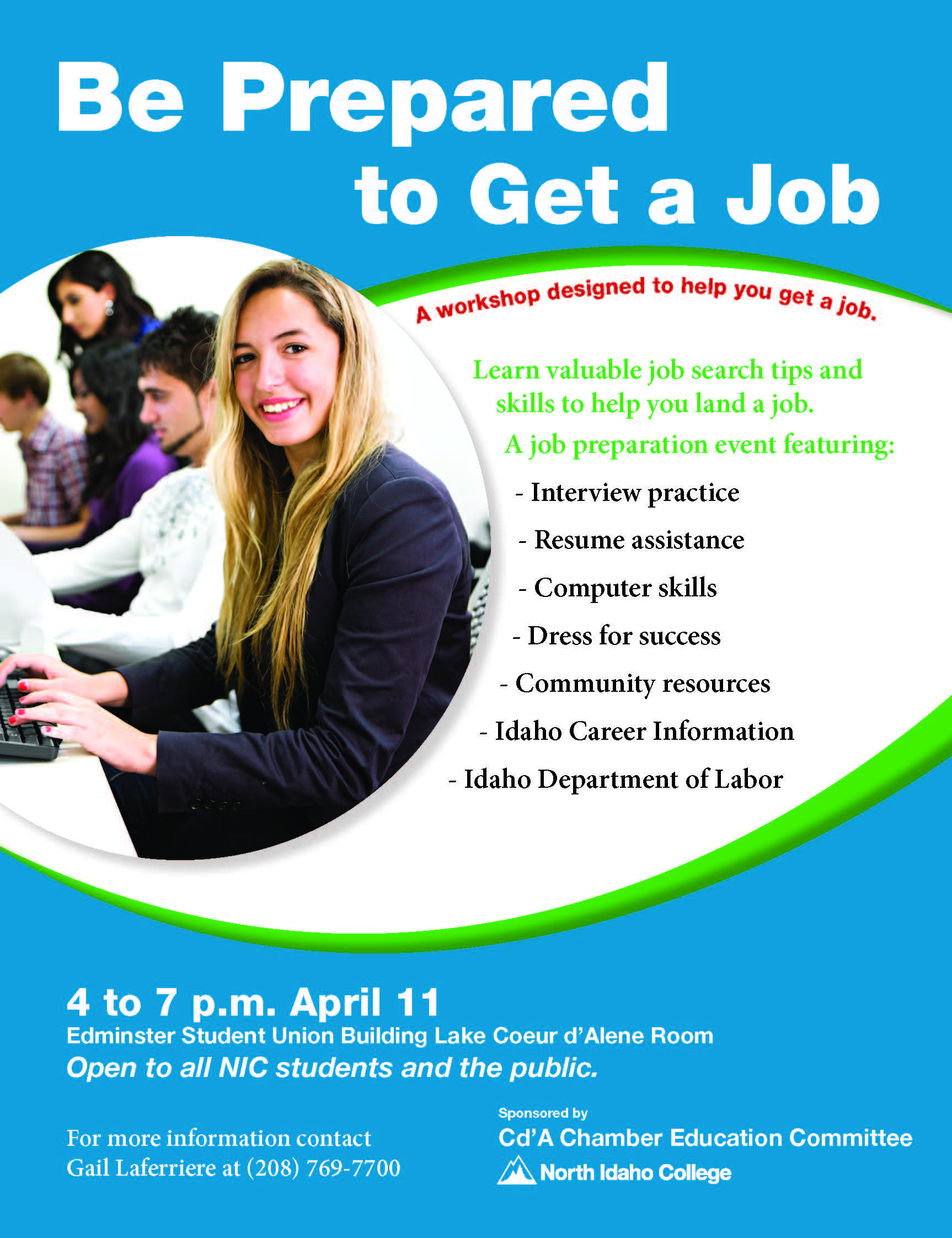 learn the skills necessary to get a job in a competitive job learn the skills necessary to get a job in a competitive job market during this