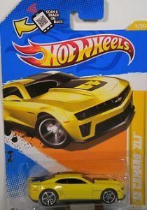 Hot Wheels 2012 12 Camaro Zl1 Yellow 2012 New Models 9 247 1 64 Scale By Mattel 4 00 Ages 3 And Up 1 64 S Hot Wheels Party Hot Wheels Cars Hot Wheels