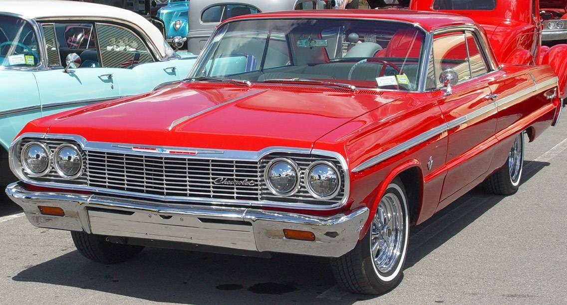 1964 Impala Red Classic Cars Cars Chevrolet Impala Ve 64