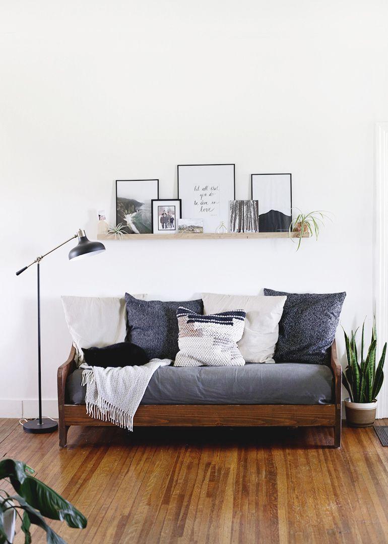 Photo of DIY Wood Sofa