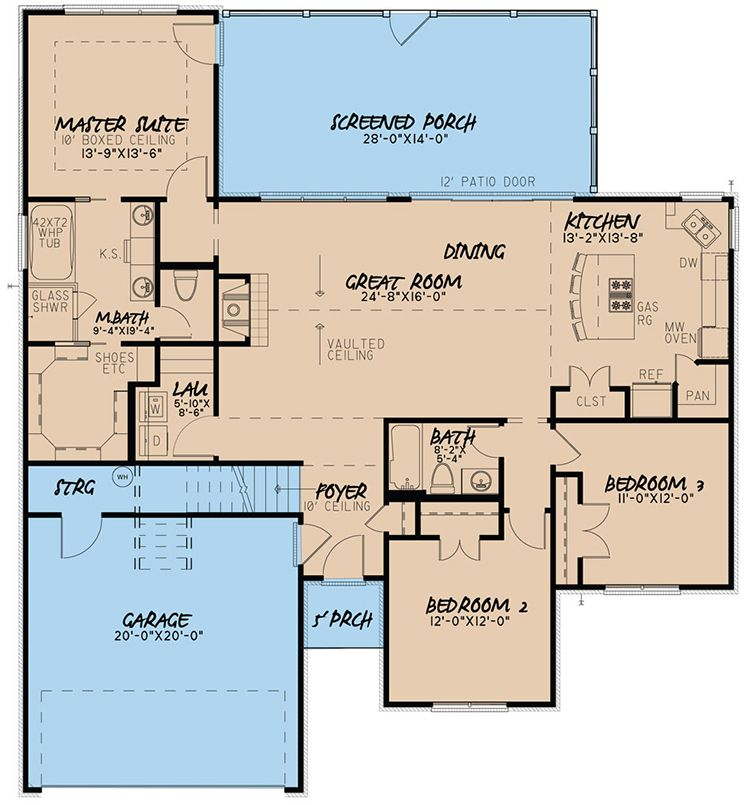 House Plan 8318 00039 Traditional Plan 1 640 Square Feet 3 Bedrooms 2 Bathrooms Southern House Plans Best House Plans New House Plans