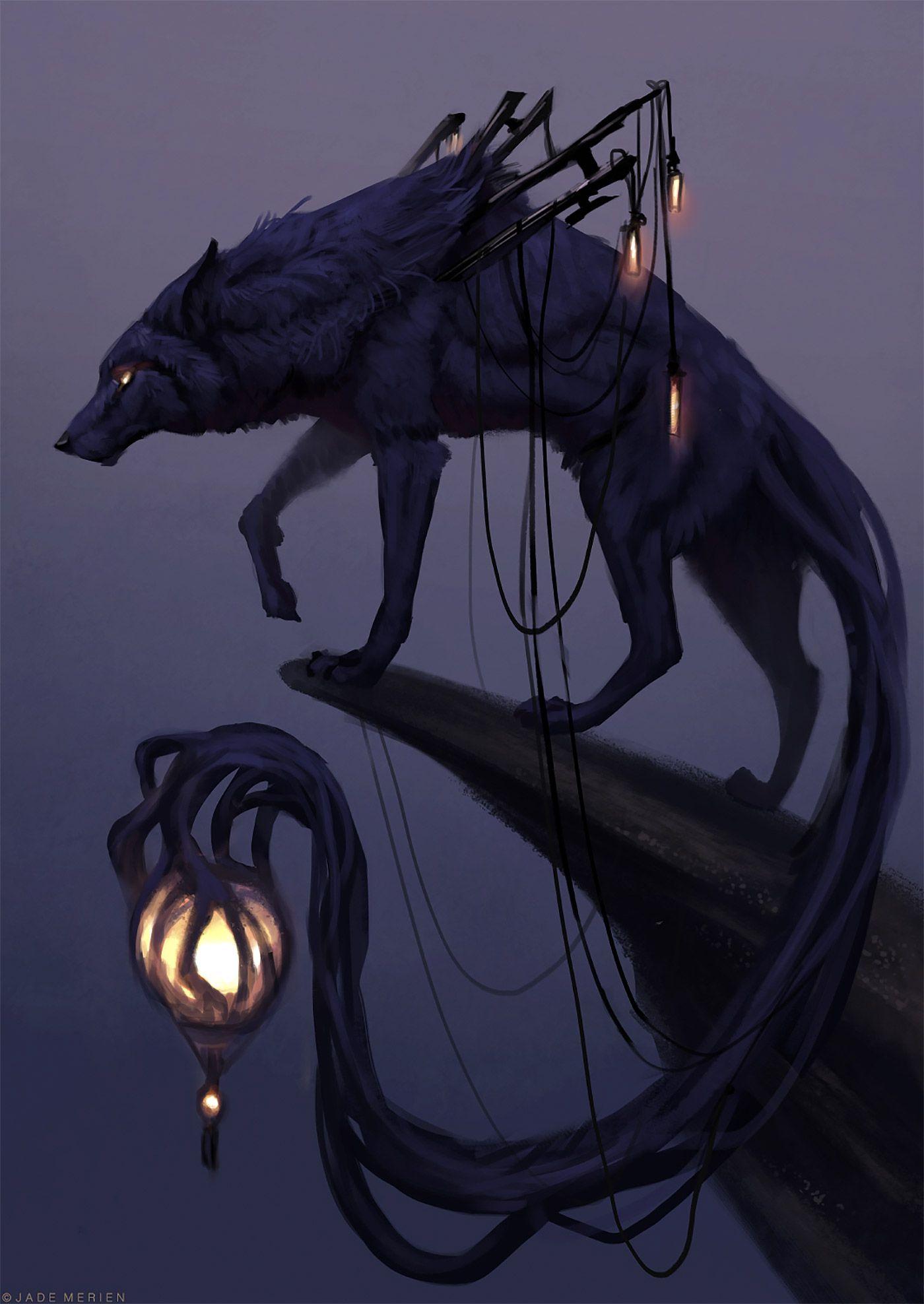 Wild Fantasy Animal Paintings