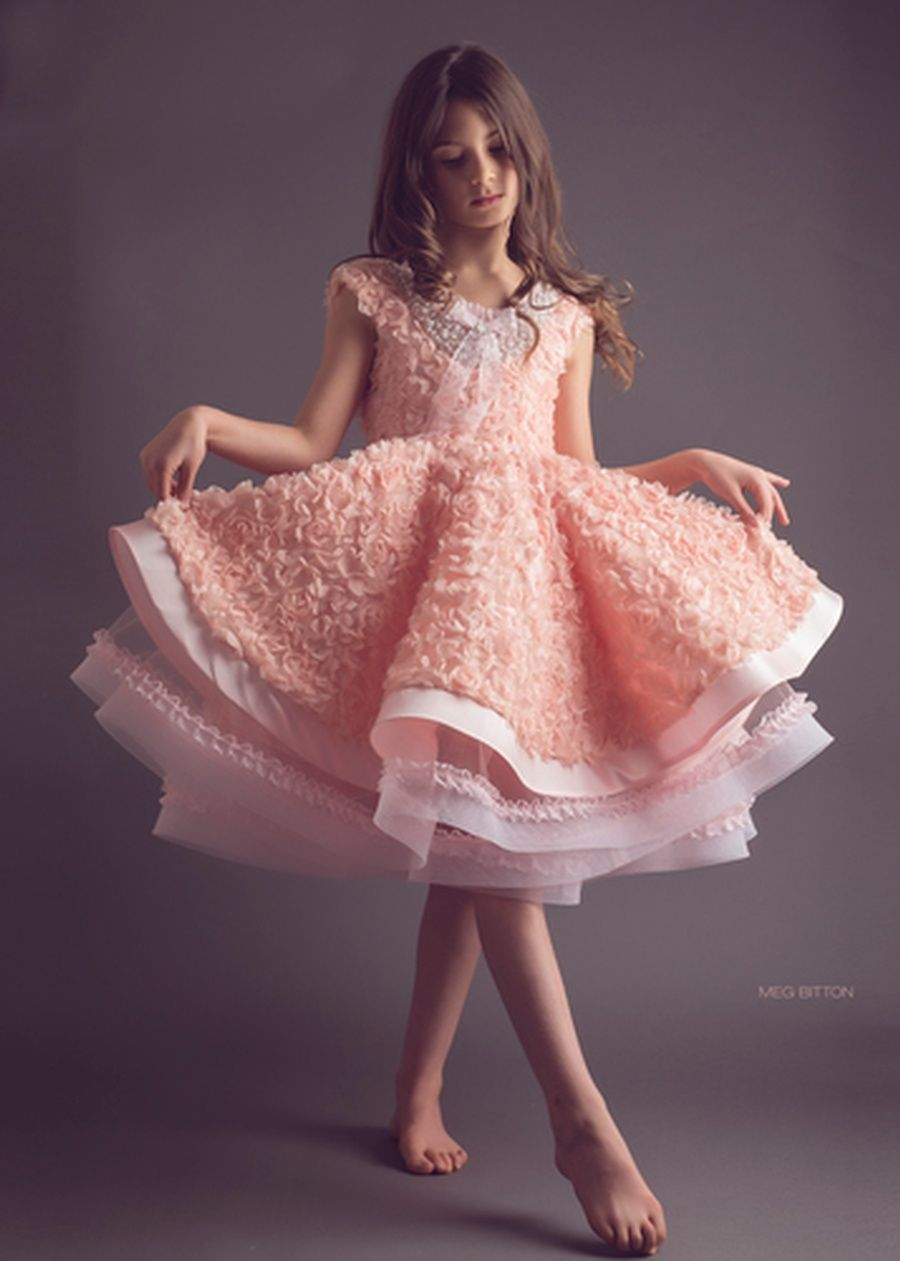 FabTutus | Products | Anna Triant Couture | Peachy | kids ...