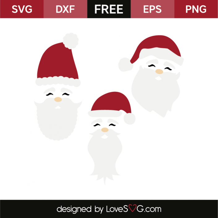 Santa faces Santa face, Christmas svg, Christmas vinyl