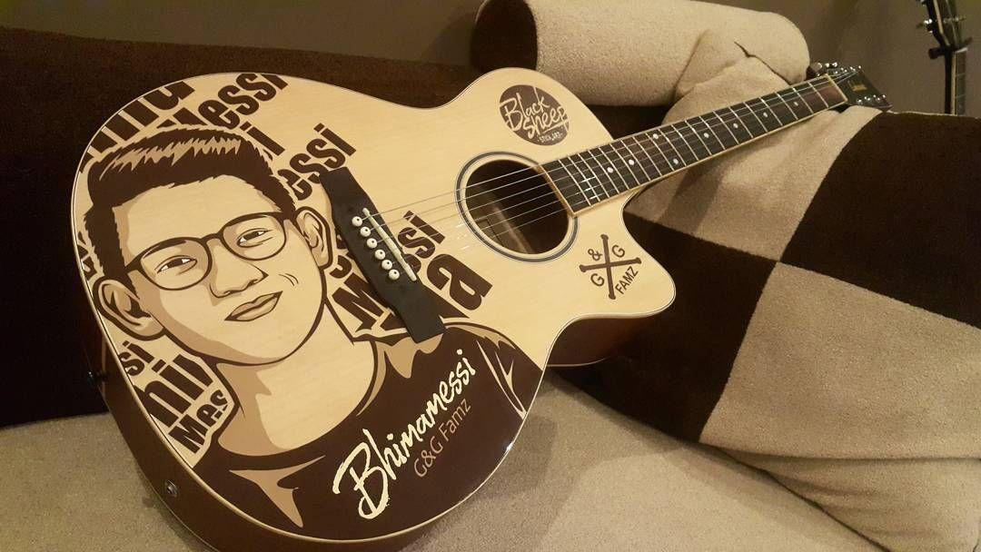 Custom cutting sticker lakewood guitar guitar acousticguitar lakewood cuttingsticker blacksheepstickart