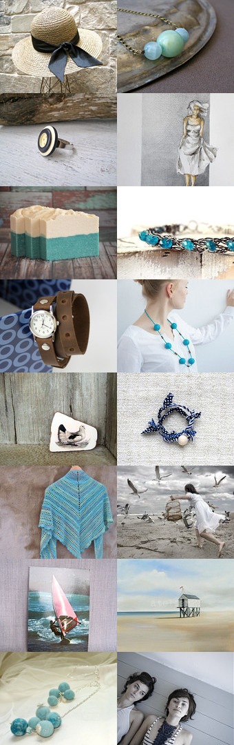 Lady of the Sea by Yuliya on Etsy--Pinned with TreasuryPin.com