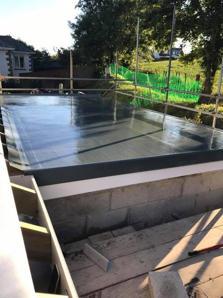 Fibreglass Roofing In Cornwall Element Grp Roofing Get A Quote Today In 2020 Grp Roofing Fibreglass Roof Fibreglass Flat Roof