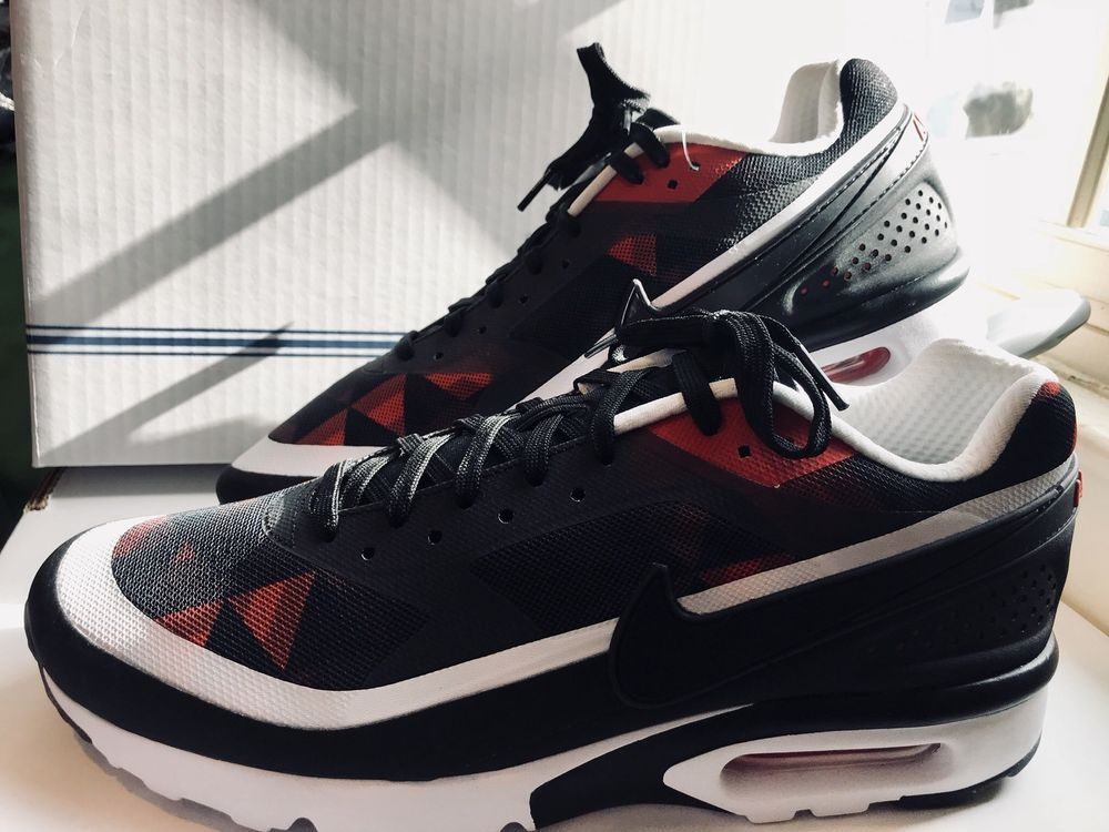 best service e10a9 4016e Nike Air Max. Hard to Find Running Shoe. Black,University Red, White  Color-way. Size 10.5. | eBay!