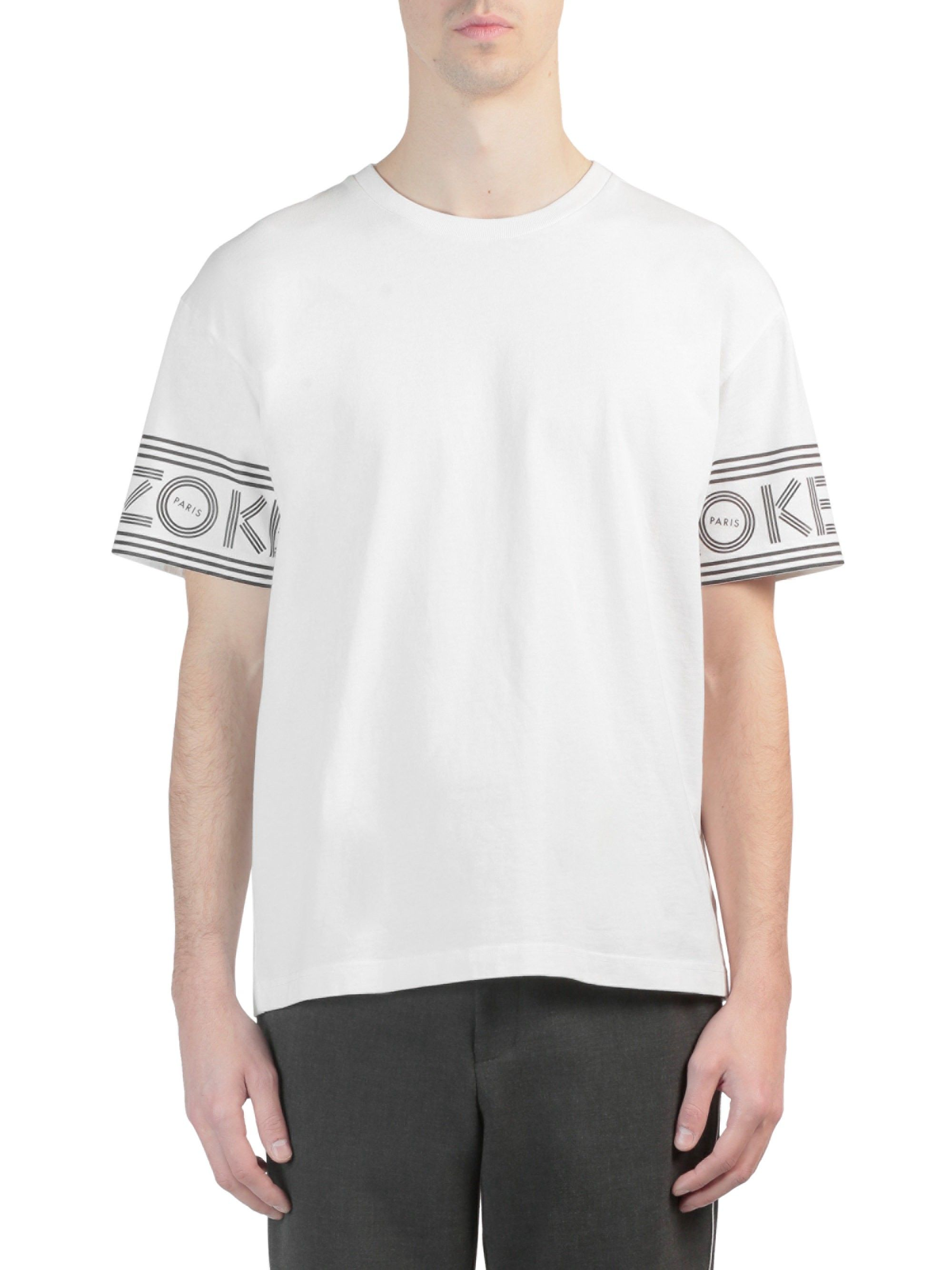 d2be81be33 Logo-Print Cotton Sport Tee by KENZO | Products | Printed cotton ...