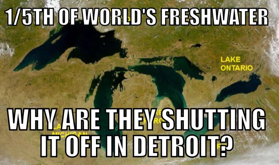 The Detroit Water and Sewerage Department has hired private contractors to shut off over 300,000 poor people's water this summer. Activists from around the world are calling it a violation of basic human rights and lodging formal complaints with the UN, while some Detroiters are preparing direct actions to block the shutoffs and provide clean water to those affected. ZERO reports in the national media.