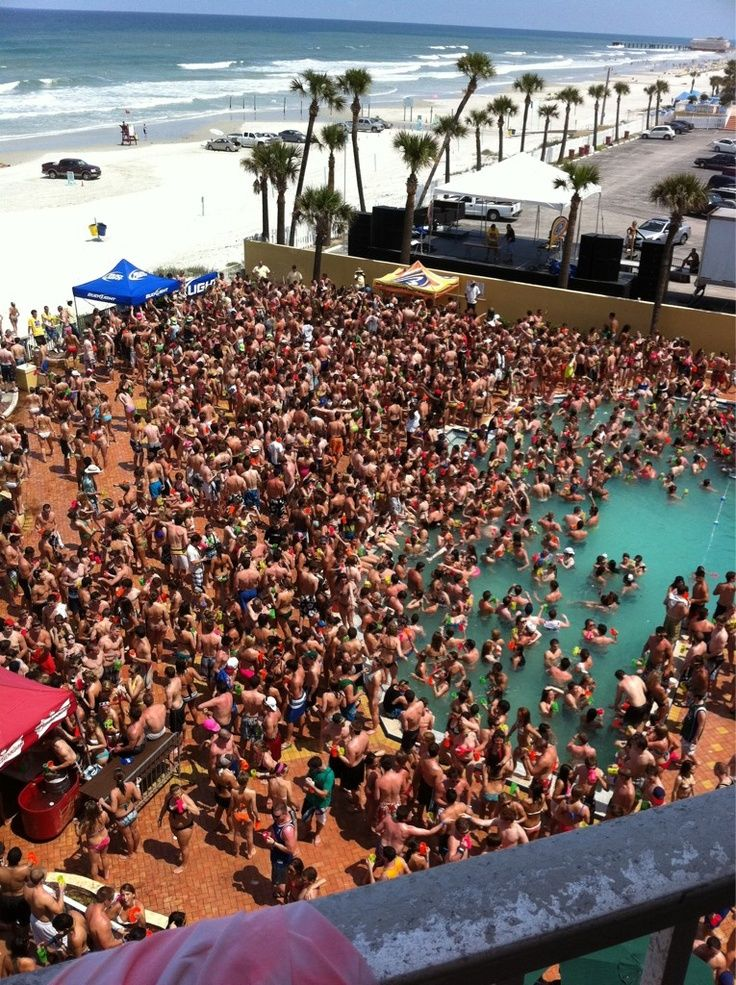 Spring Break At Daytona Beach