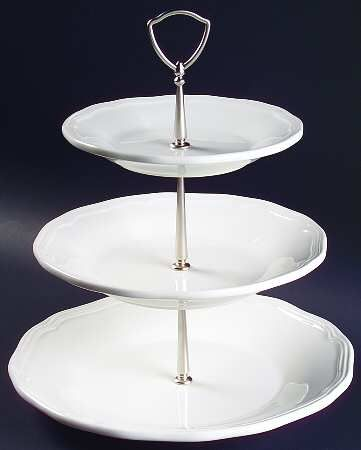 Mikasa 3 Tiered White Serving Tray Mikasa Antique White Stock White Serving Tray White Tiered Stand Antique White