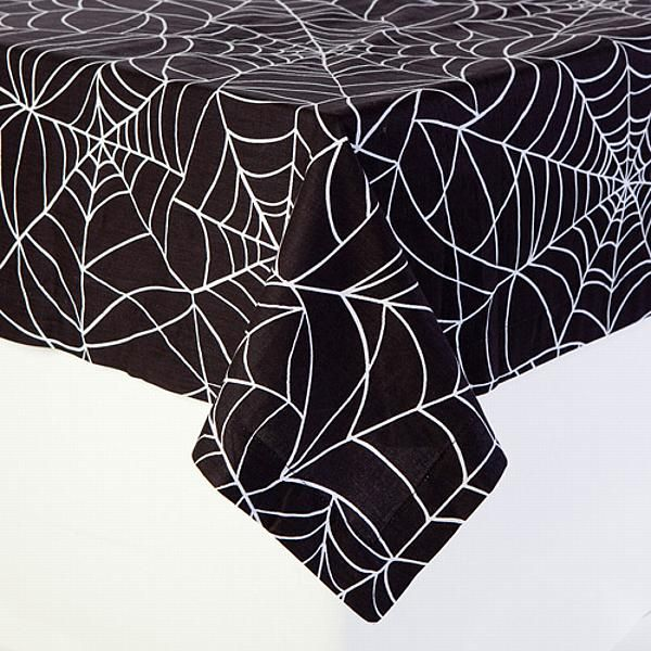 Spider Web Table Cloths