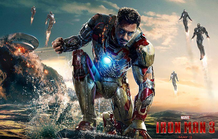 ¿SABIAS QUE?  IRON MAN 3, es la sexta pelicula mas taquillera.  #REDEXSUPREMO #MarvelDcFANS