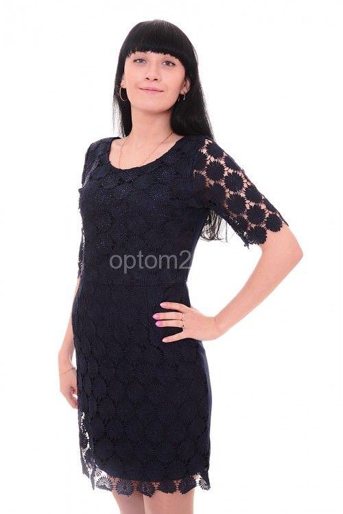 Платье темно-синее летнее А7707 Размеры: M, L, XL Цена: 600 руб.  http://optom24.ru/plate-temno-sinee-letnee-a7707/  #одежда #женщинам #платья #оптом24