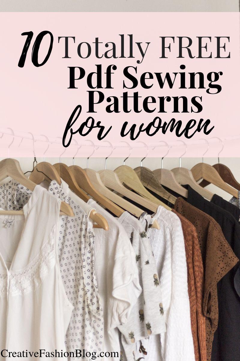 Photo of 10 Totally Free Sewing Patterns Pdf – Creative Fashion Blog